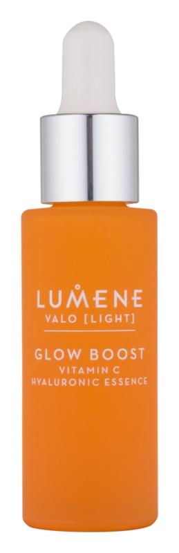 Lumene Valo [Light] rozjasňující výživná pleťová voda s kyselinou hyaluronovou